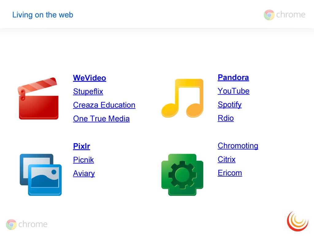 WeVideo Stupeflix Creaza Education One True Med...