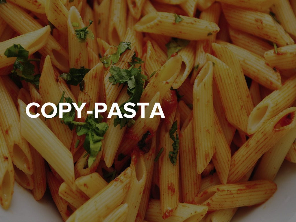 COPY-PASTA