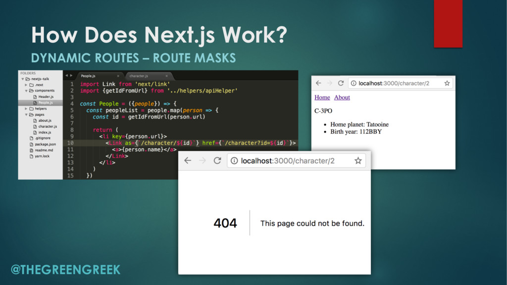 How Does Next.js Work? DYNAMIC ROUTES – ROUTE M...