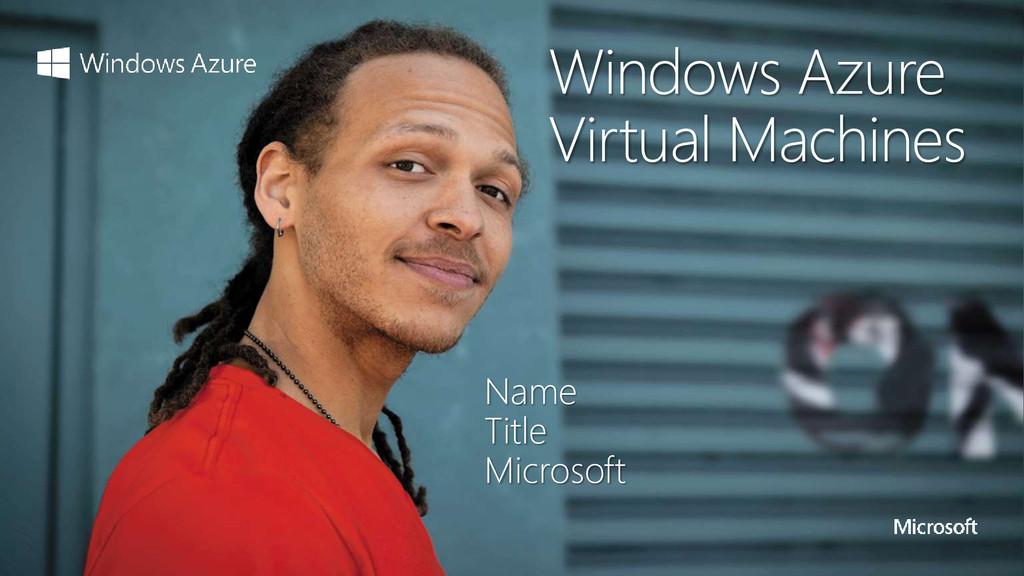 Name Title Microsoft Windows Azure Virtual Mach...