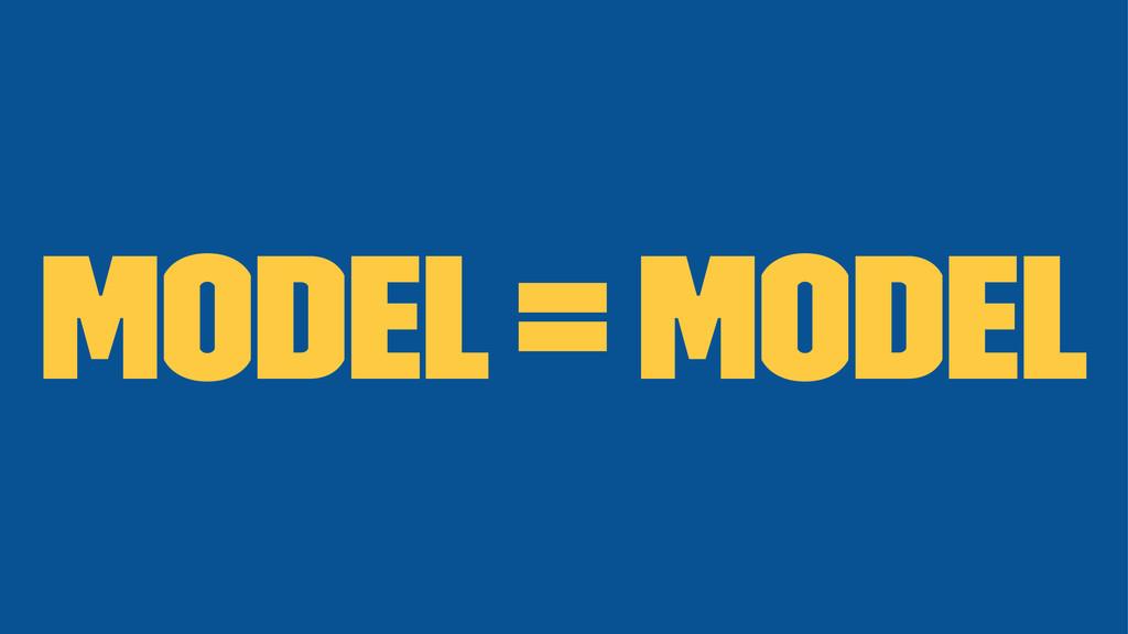 Model = Model