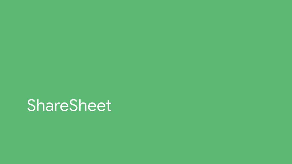 ShareSheet