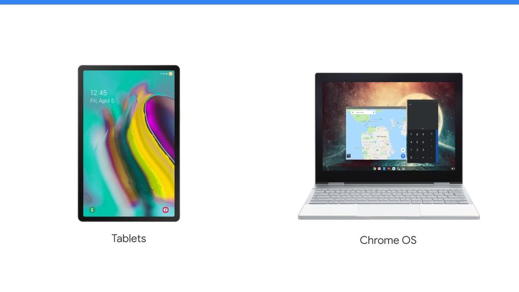 Tablets Chrome OS