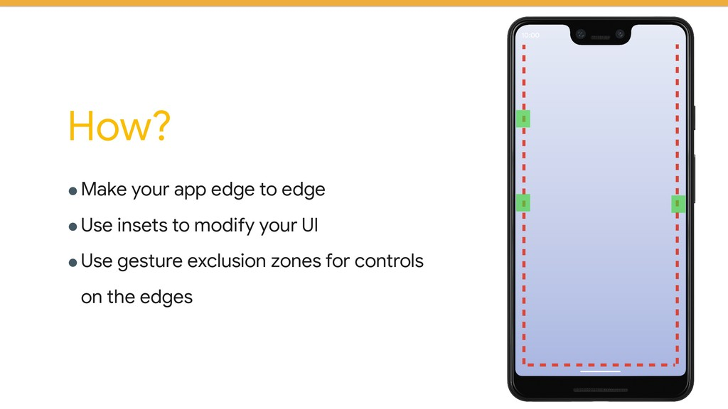 !Make your app edge to edge !Use insets to modi...