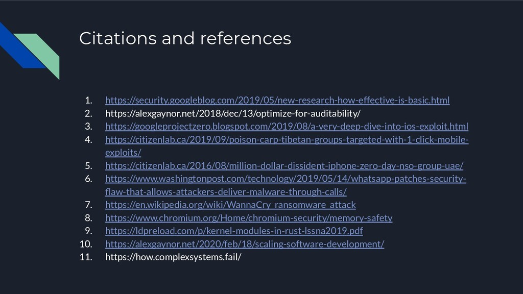Citations and references 1. https://security.go...