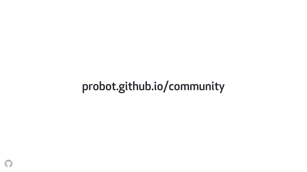 probot.github.io/community