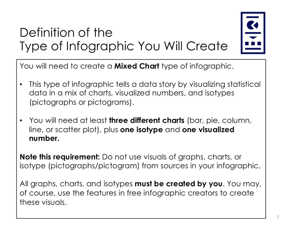 Definition of the Type of Infographic You Will ...