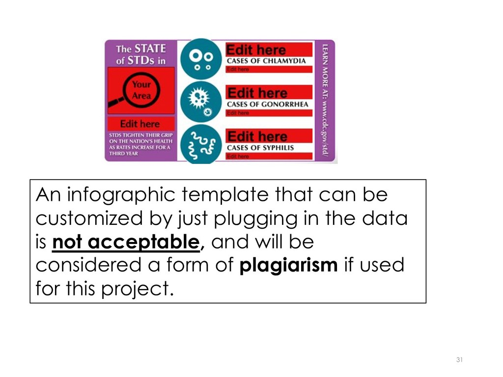 31 An infographic template that can be customiz...