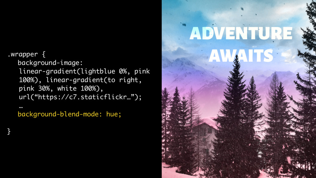 .wrapper { background-image: linear-gradient(li...