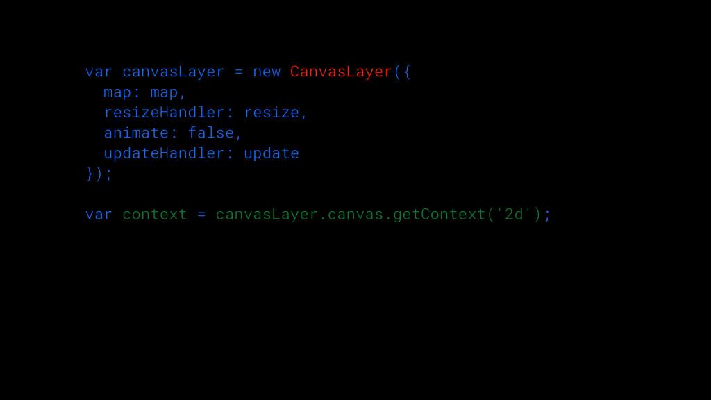 var canvasLayer = new CanvasLayer({ map: map,...