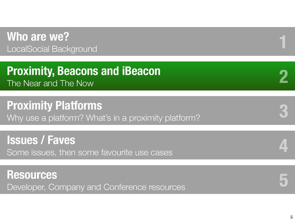 5 Proximity, Beacons and iBeacon The Near and T...