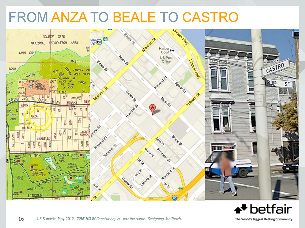 FROM ANZA TO BEALE TO CASTRO UE Summit. May 201...