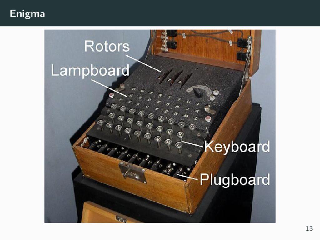Enigma 13