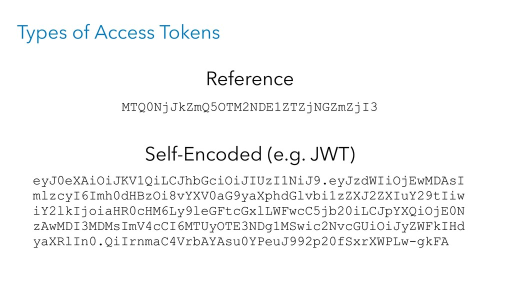 Types of Access Tokens MTQ0NjJkZmQ5OTM2NDE1ZTZj...