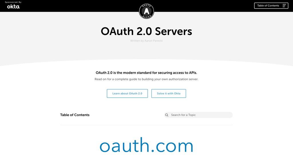 oauth.com