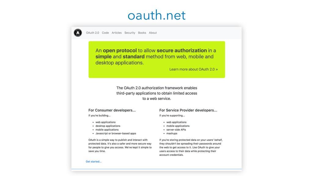 oauth.net