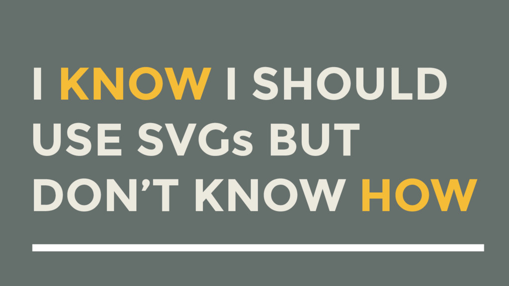 I KNOW I SHOULD USE SVGs BUT 