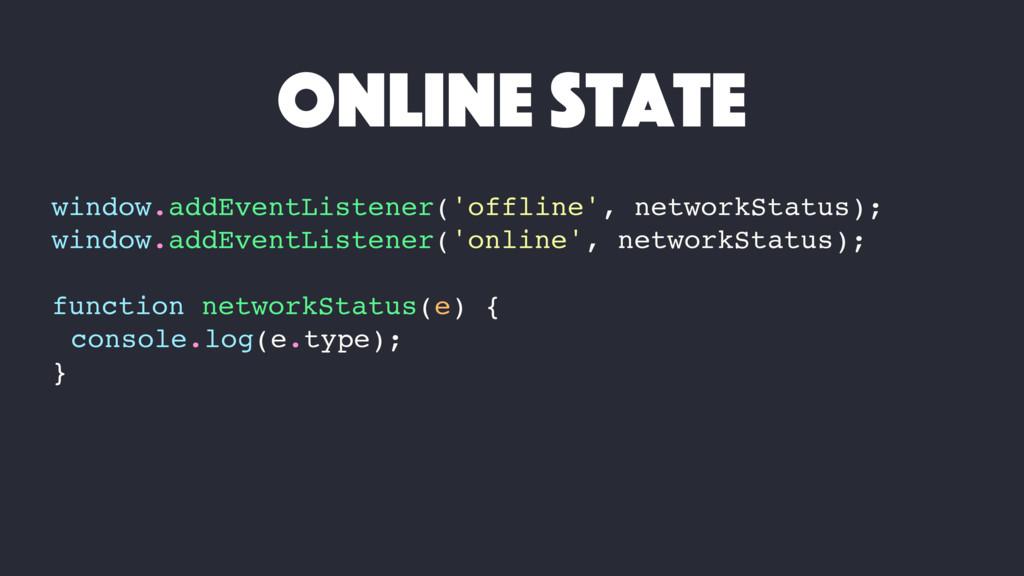 window.addEventListener('offline', networkStatu...