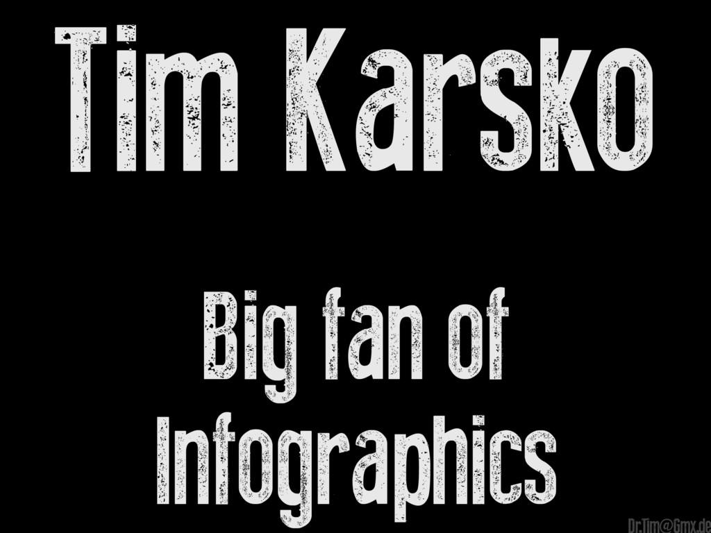 Tim Karsko Big fan of Infographics e Dr.Tim@Gmx...