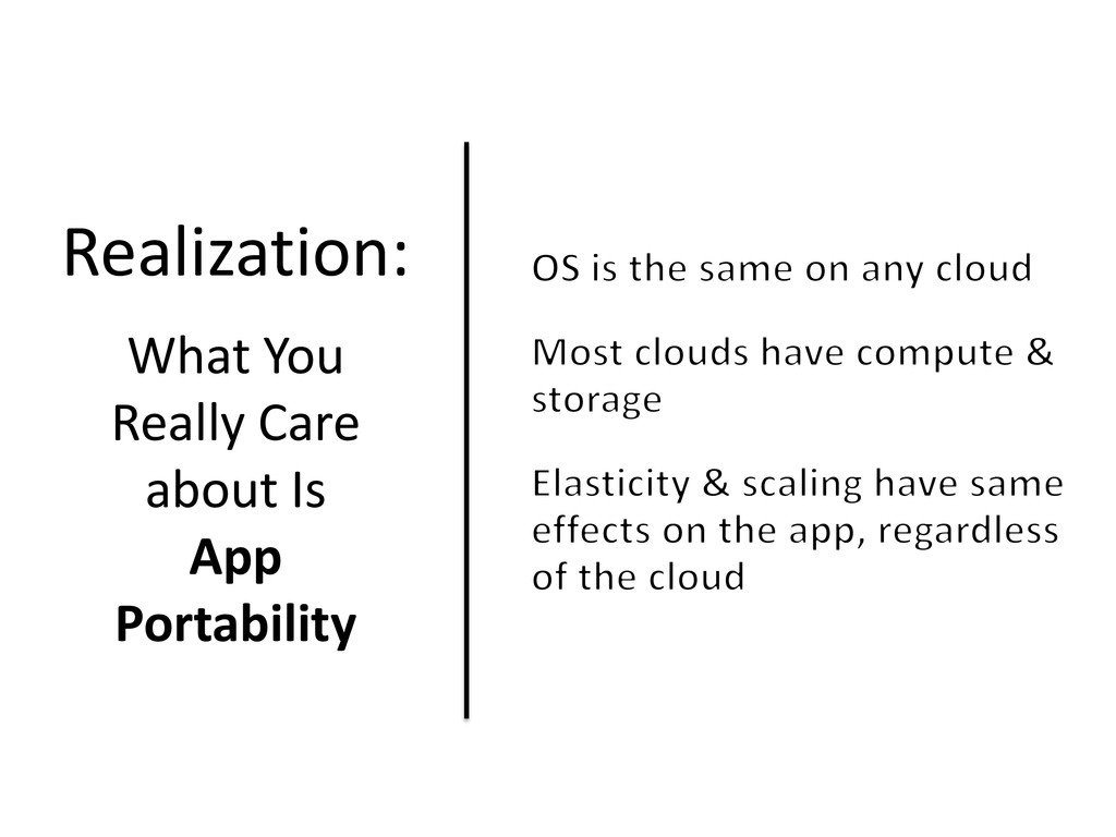 Realization: What You Really Care about Is App ...