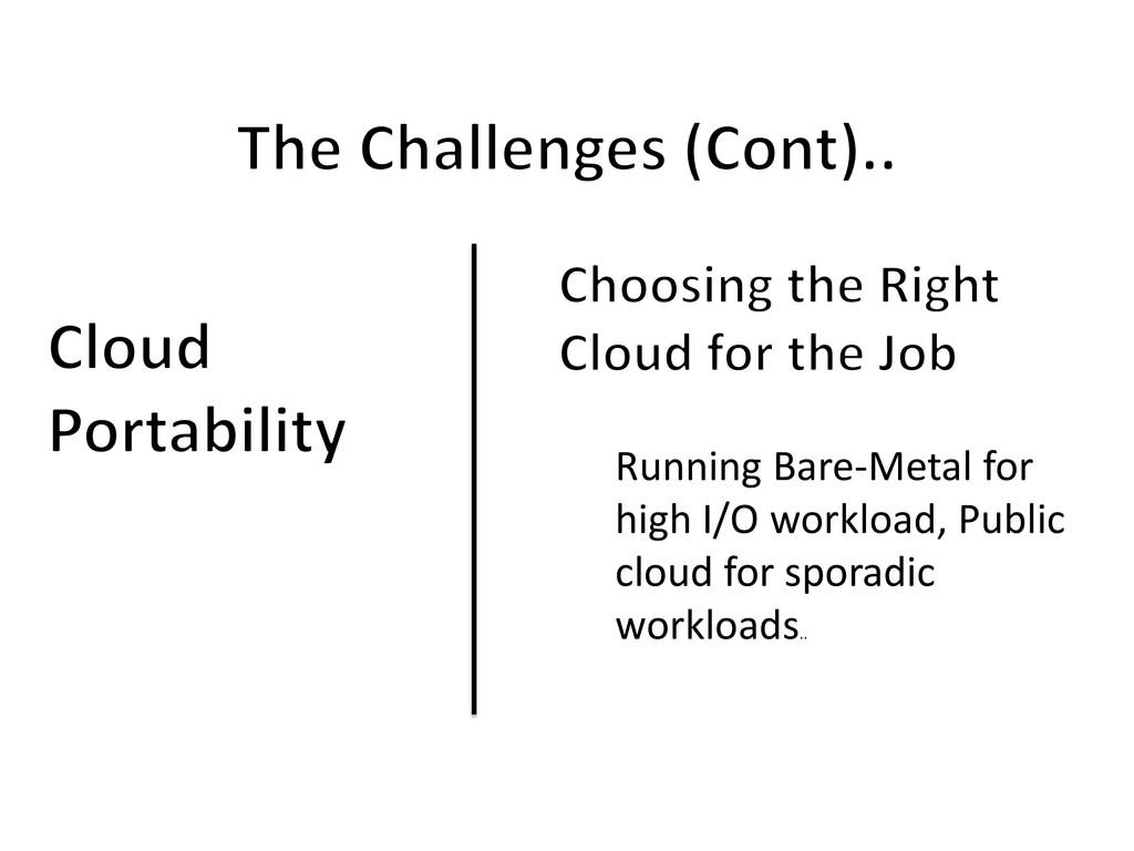 Running Bare-Metal for high I/O workload, Publi...