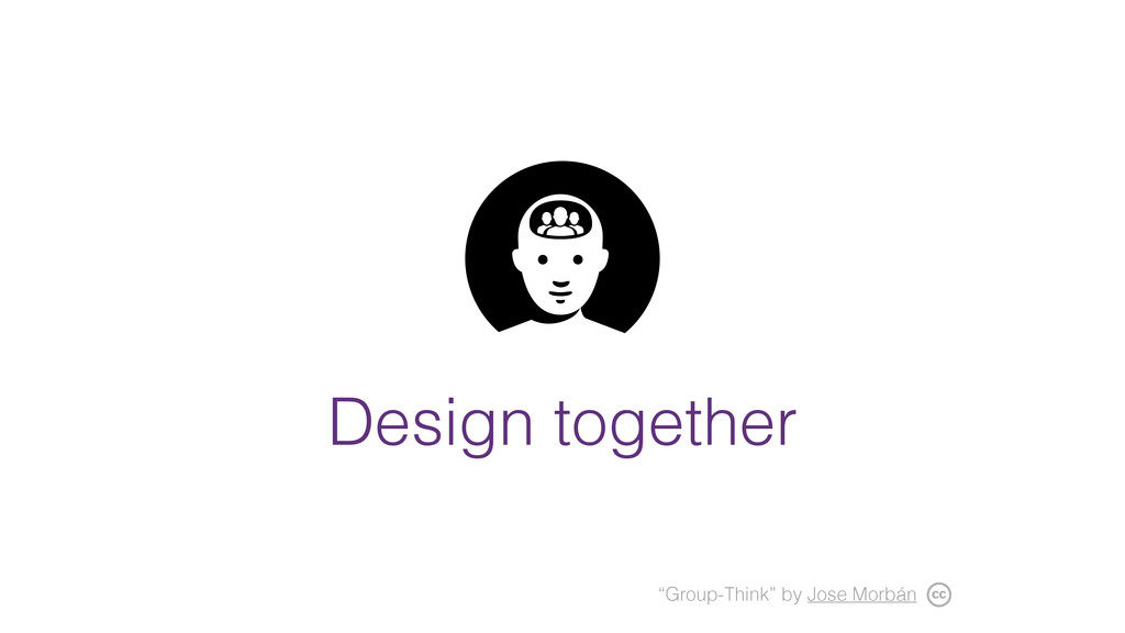 """Design together """"Group-Think"""" by Jose Morbán"""