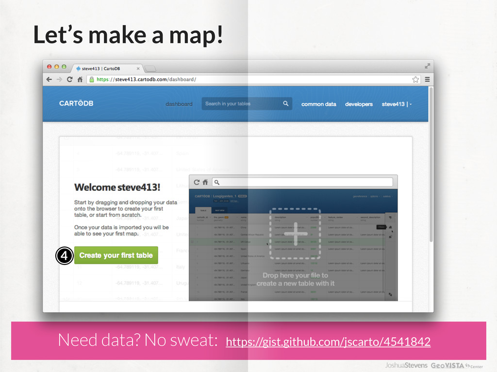 Let's make a map! 4 Need data? No sweat: https:...