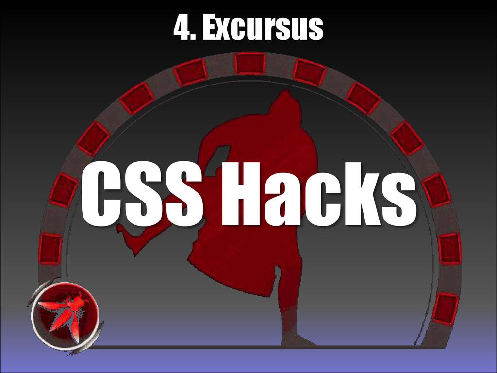 CSS Hacks 4. Excursus