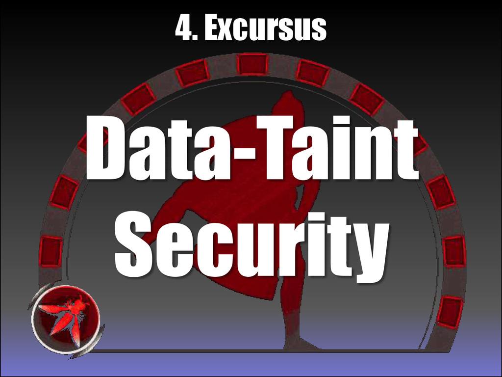 Data-Taint Security 4. Excursus