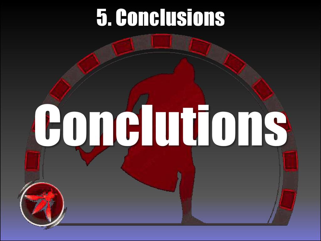 Conclutions 5. Conclusions