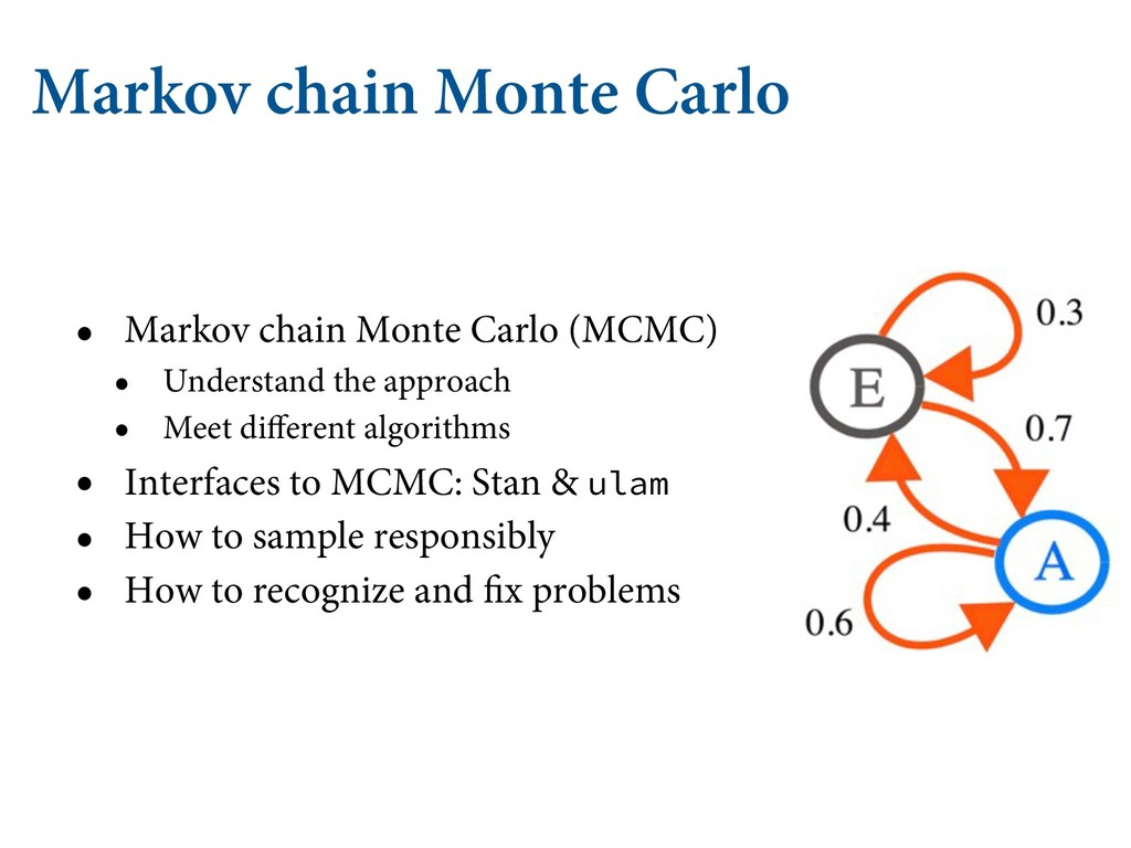 Markov chain Monte Carlo • Markov chain Monte C...