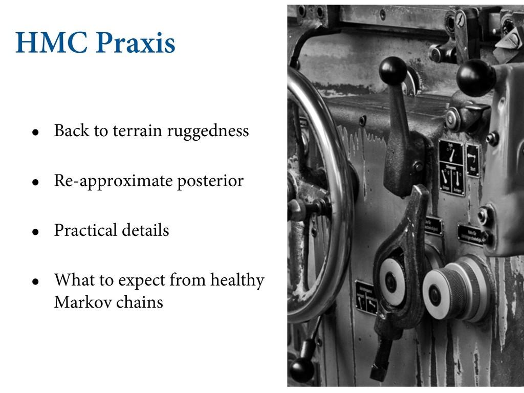 HMC Praxis • Back to terrain ruggedness • Re-ap...