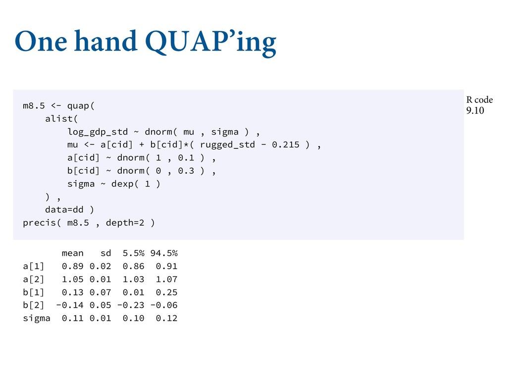 """One hand QUAP'ing ɶ-0"""""""" Ǿ./ ʚǶ ɶ-0""""""""  ȅ ..."""