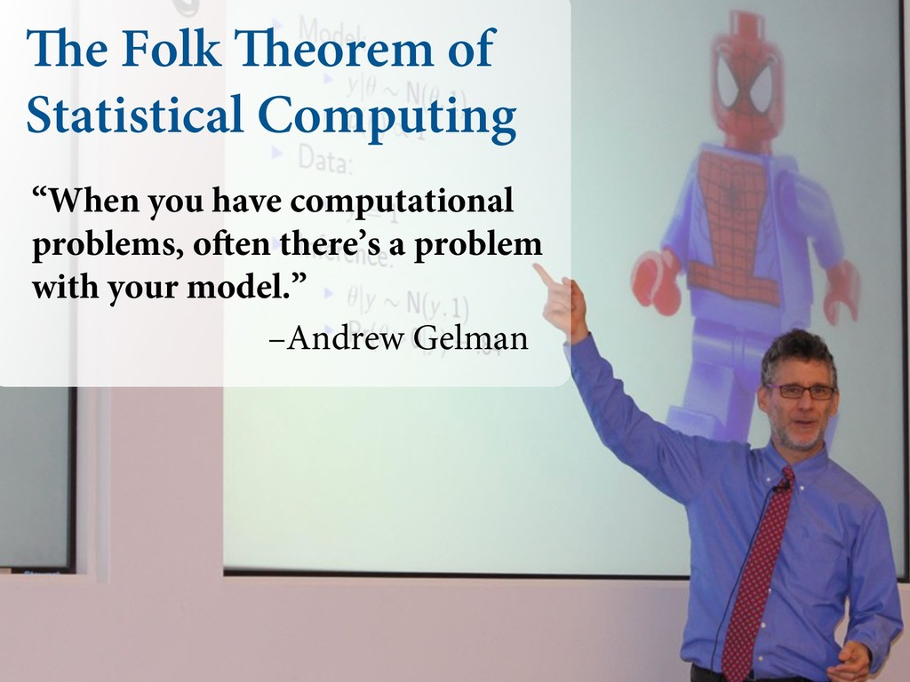"""The Folk Theorem of Statistical Computing """"When..."""