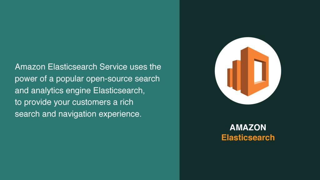AMAZON  Elasticsearch Amazon Elasticsearch Ser...