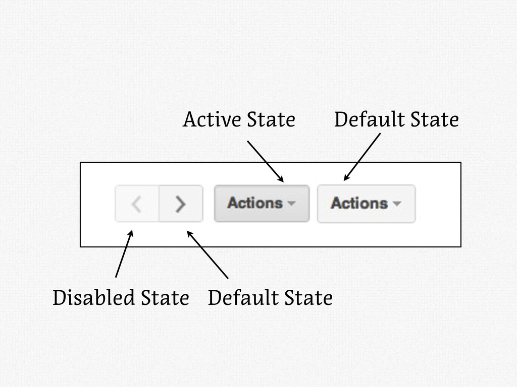 Active State Default State Disabled State Defau...