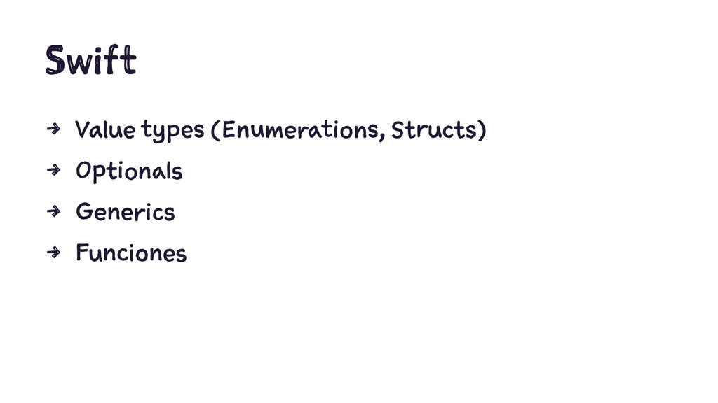 Swift 4 Value types (Enumerations, Structs) 4 O...