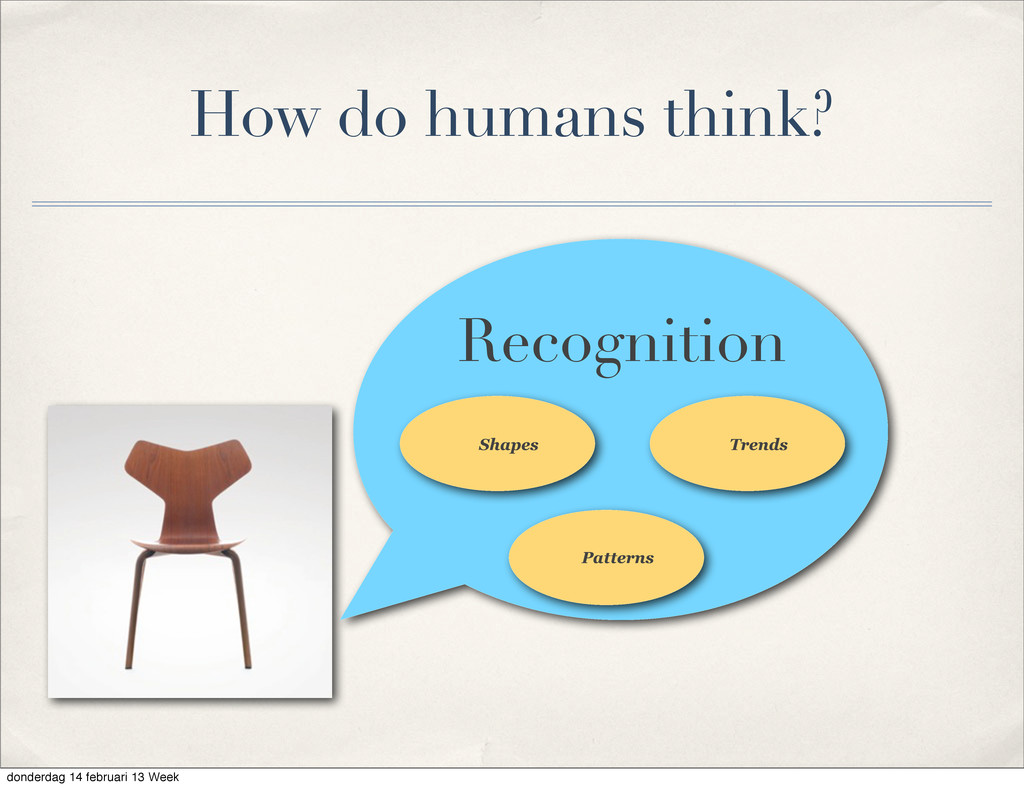 Shapes Trends Recognition Patterns How do human...