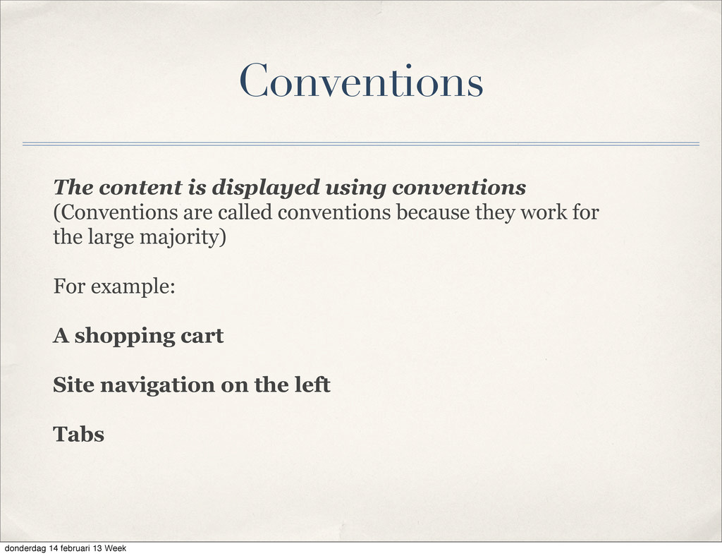 The content is displayed using conventions (Con...