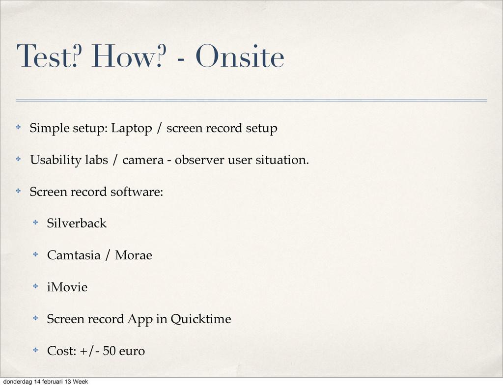 ✤ Simple setup: Laptop / screen record setup ✤ ...
