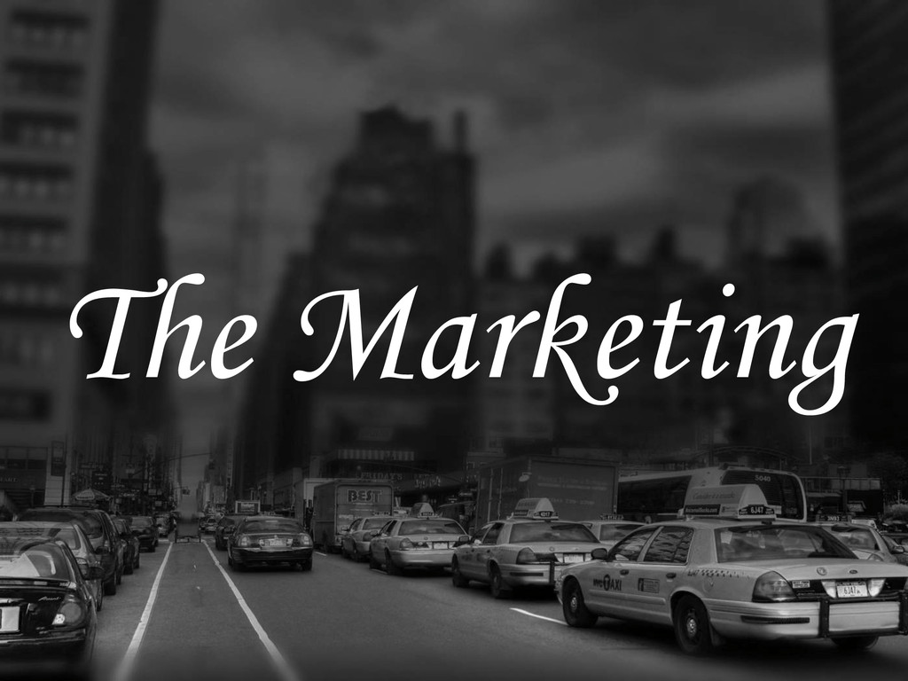 The Marketing