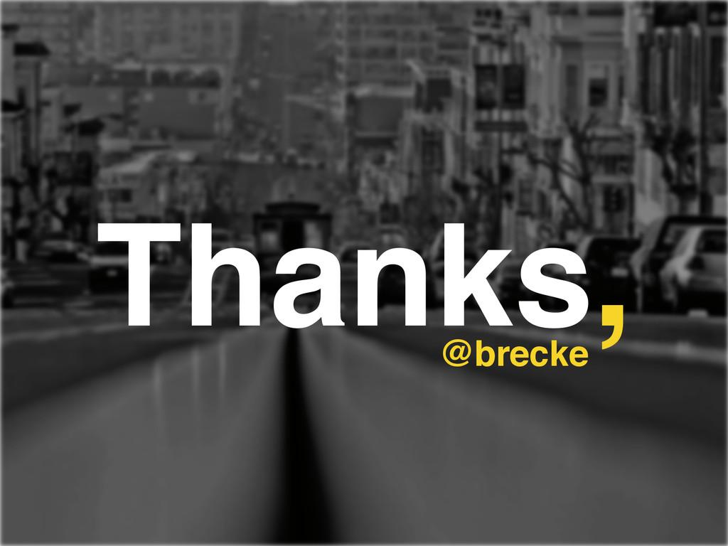 Thanks, @brecke