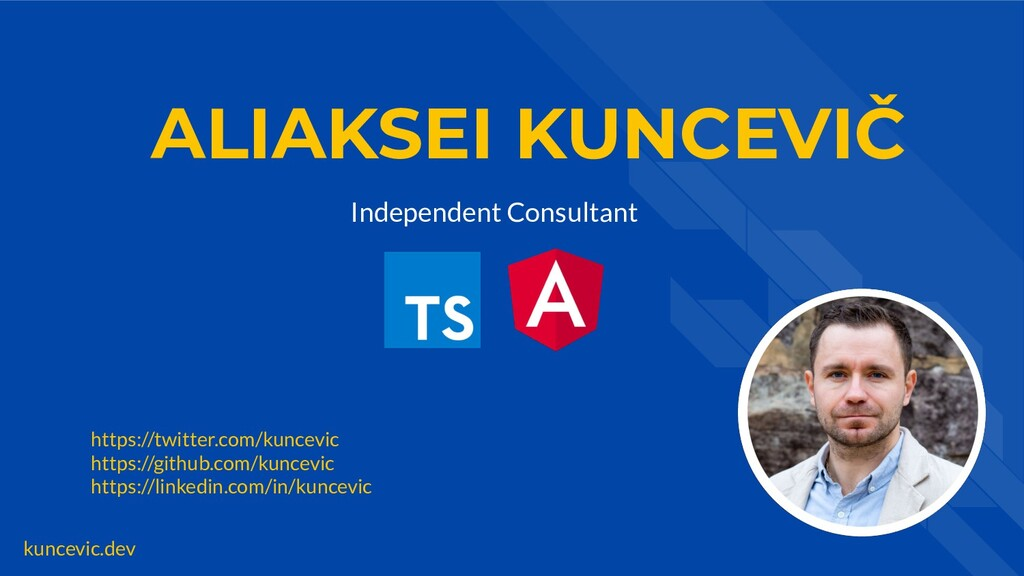 kuncevic.dev ALIAKSEI KUNCEVIČ Independent Cons...