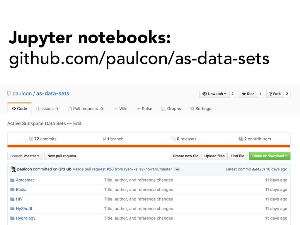 Jupyter notebooks: github.com/paulcon/as-data-s...