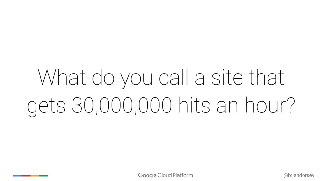 @briandorsey What do you call a site that gets ...