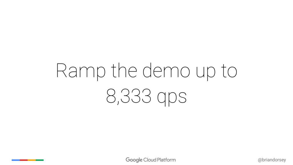@briandorsey Ramp the demo up to 8,333 qps