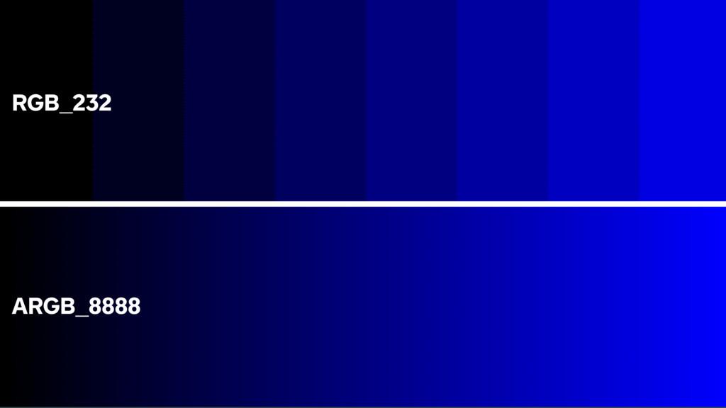 RGB_232 ARGB_8888