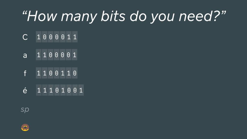 """1 1 1 0 1 0 0 1 1 0 0 0 0 1 1 C """"How many bits ..."""