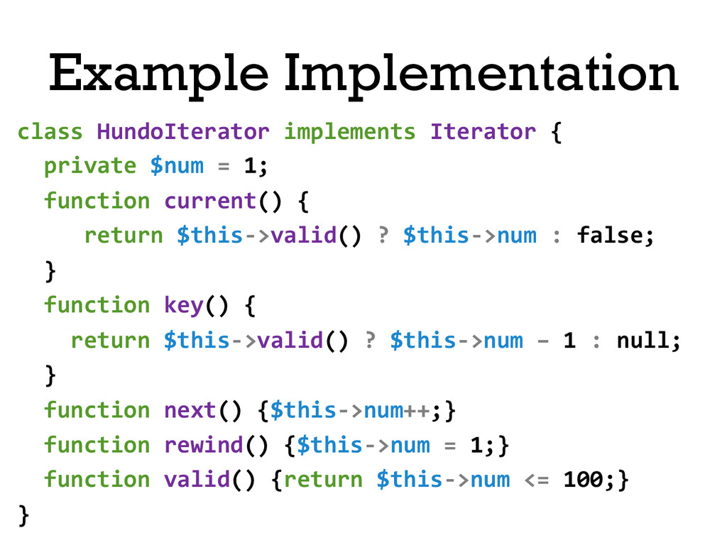 class HundoIterator implements Iterato...