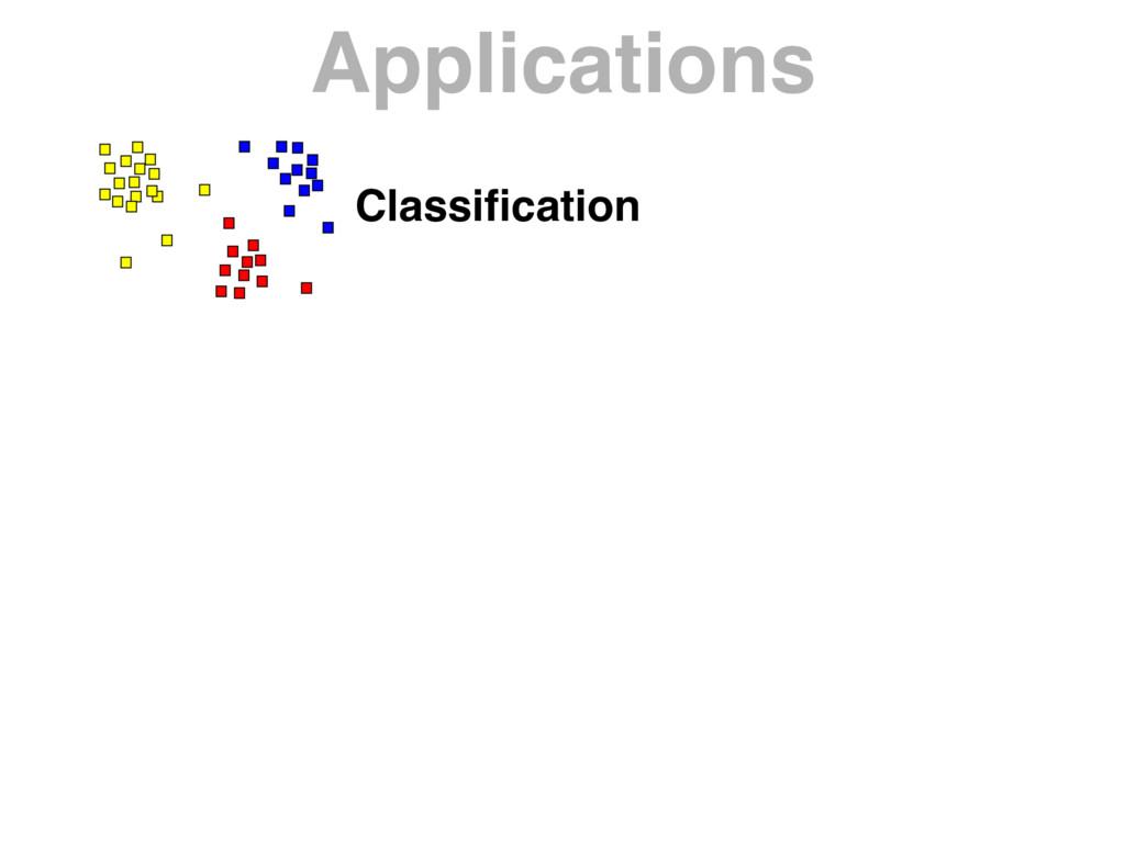 Applications Classification